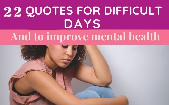 Uplifting quotes to improve mental health