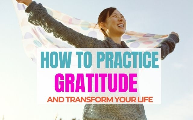 Show your gratitude EVERY DAY for a happier life