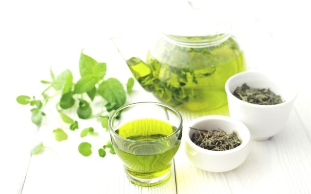 The best food for hormone balance with green tea