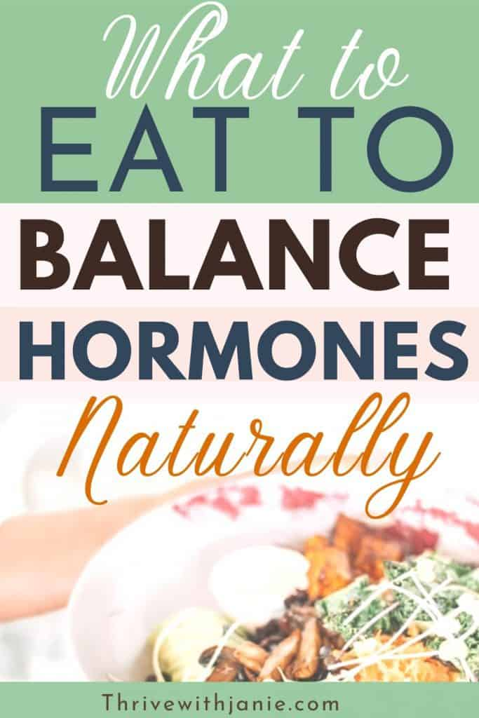 the best foods for hormonal balance