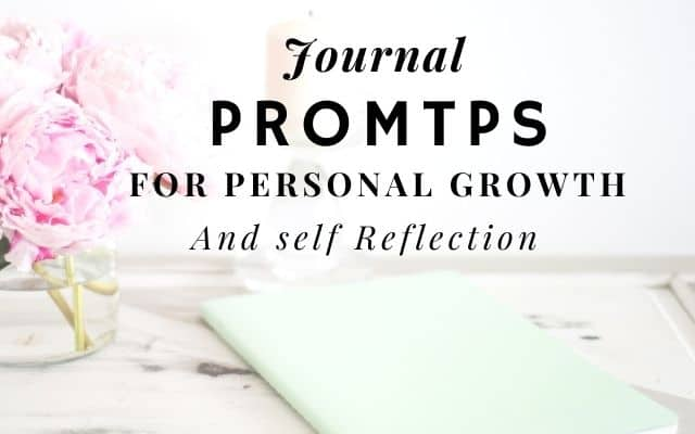 Journalprompts for personal growth and self reflection