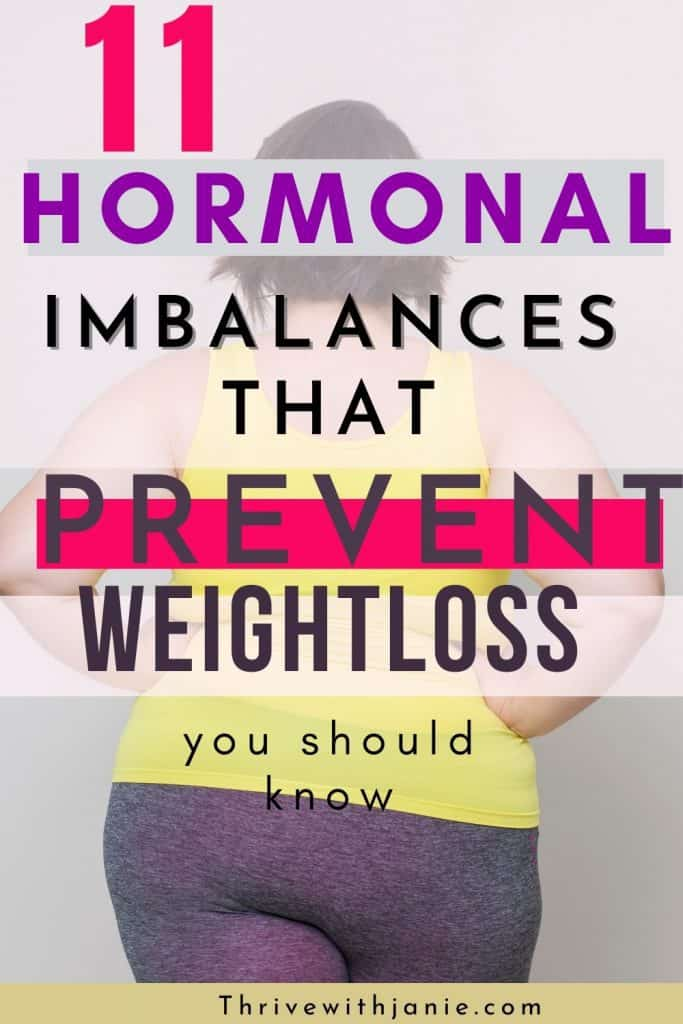 hormones that prevent weight loss
