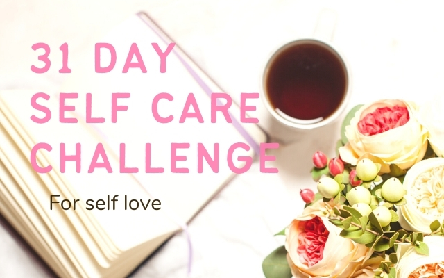 31 day self care challenge