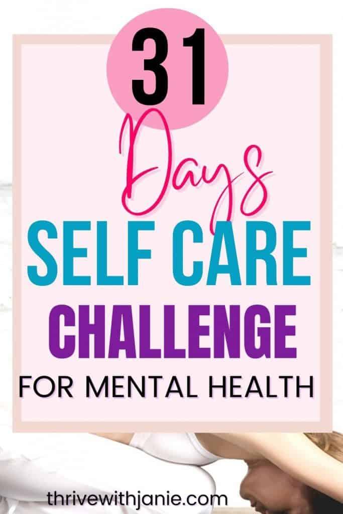 Best self care challenge