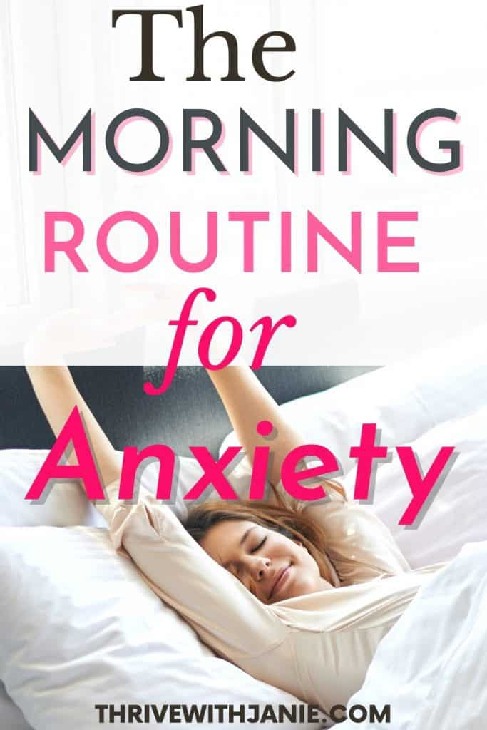 Best morning routine for anxiety