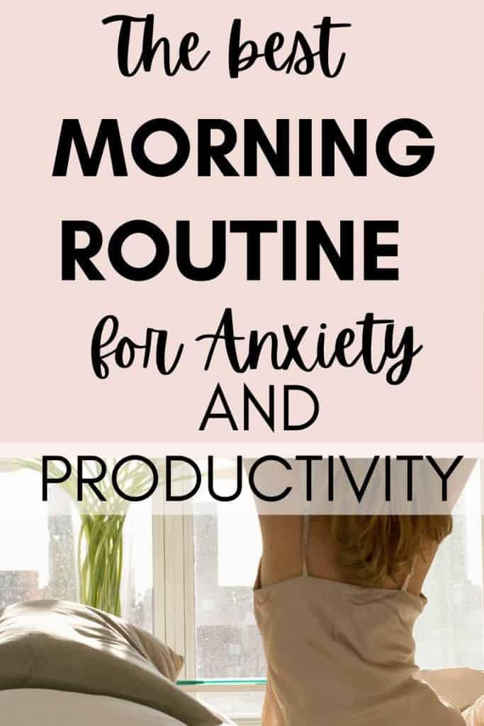 The best morning routine for anxiety