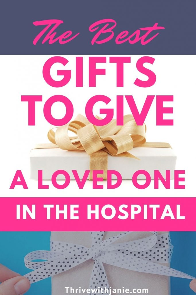 The best gifts for someone in the hospital